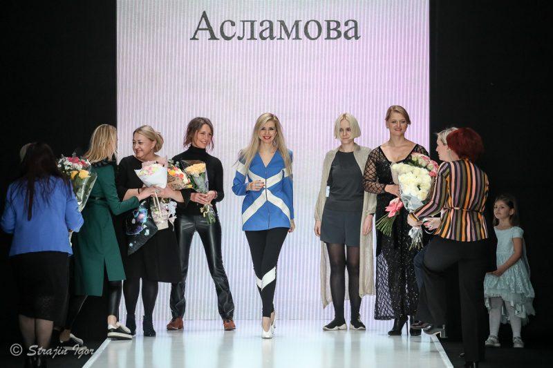 Показ коллекций Лаборатории Моды SLAVA ZAITSEV на Неделе модыMercedes-Benz Fashion Week Russia.