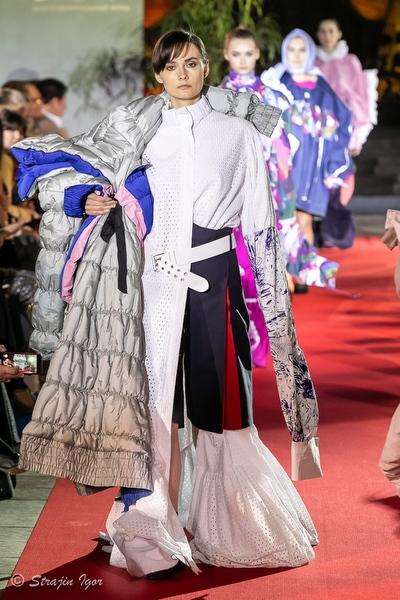 Модный показ молодых дизайнеров «Русский Силуэт» в рамках 40-го ММКФ