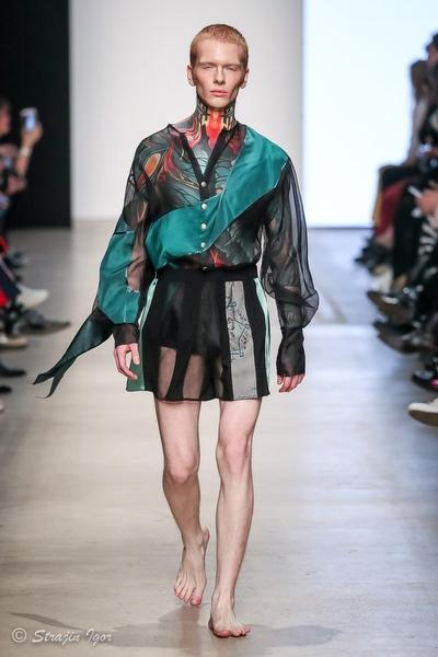 Коллекция ODOR весна-лето 20 на неделе моды Mercedes-Benz Fashion Week Russia.