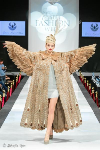 Показ коллекции ИРИНЫ КРУТИКОВОЙ на Estet Fashion Week