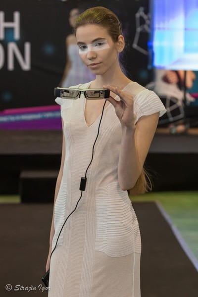 KSENIASERAYA показ на Hi-tech Fashion Show