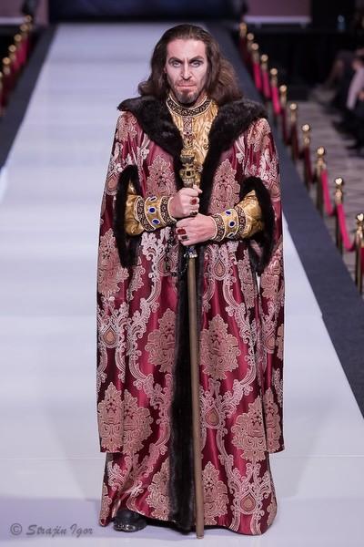Костюм Ивана Грозного на Estet Fashion Week