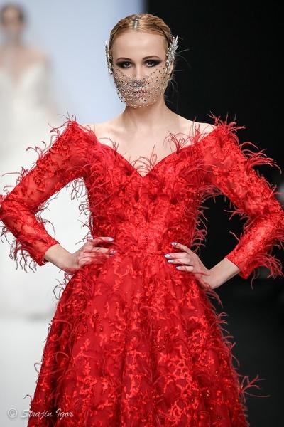 Kazakhstan Fashion Week на подиуме MBFWRussia