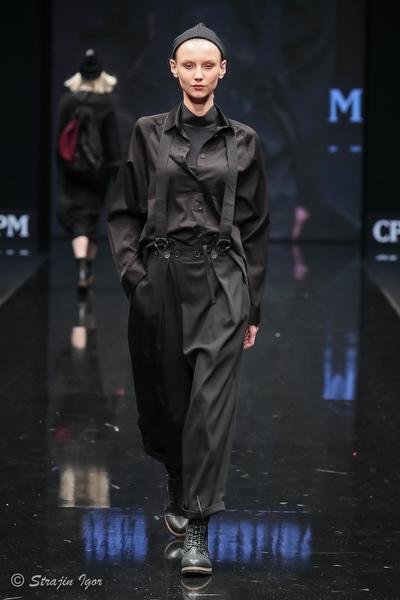 Показ коллекции одежды IANIS CHAMALIDY на выставке моды CPM Collection Premere Moscow. Designerpool