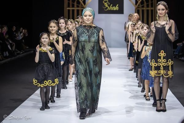 Бренд SAID SHAH на Неделе моды в Москве.
