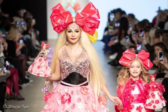 Кукла Таня Fashion Show Moscow Mercedes-Benz Fashion Week Russia