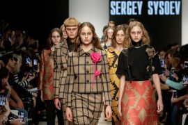 SERGEY SYSOEV spring-summer 2020 на неделе моды Mercedes-Benz Fashion Week Russia.