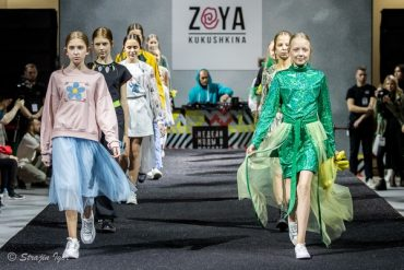 Zoya Kukushkina на Неделе моды в Москве