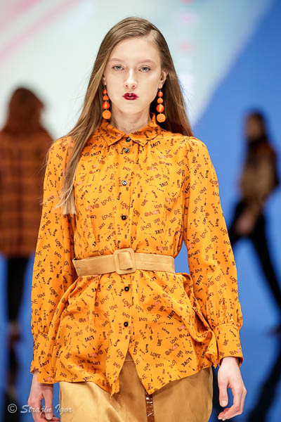 TRICOT CHIC на подиуме Международной выставке моды CPM