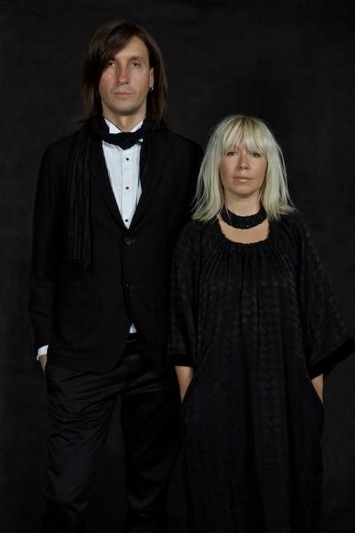 Сергей Сысоев и Ольга Сысоева семейный портрет